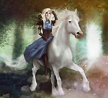 White Fire - Full Image  by Hallowette