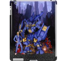 12th Doctor with D4L3K Buster Robot Phone Box iPad Case/Skin