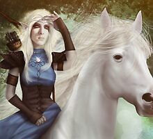 White Fire - Detail by Hallowette