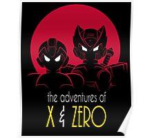 The Adventures of X & Zero Poster