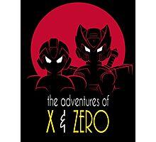 The Adventures of X & Zero Photographic Print