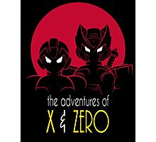 The Adventures of X & Zero Photographic Print