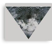 Moon Triangle Canvas Print