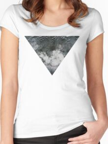 Moon Triangle Women's Fitted Scoop T-Shirt