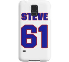 National football player Steve Neal jersey 61 Samsung Galaxy Case/Skin