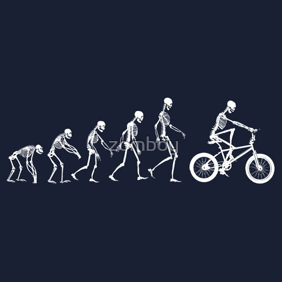 TShirtGifter presents: Evolution BMX