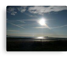 Reflections On The Irish Sea Canvas Print