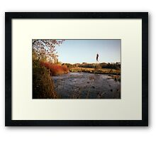 River Itchin, Nr. Tumbling Bay Framed Print