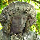 Portrait of living statue by LudaNayvelt