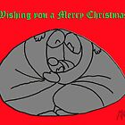 Wishing you a Merry Christma - Card by mago