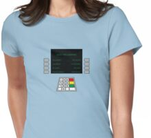 ATM Machine Womens Fitted T-Shirt