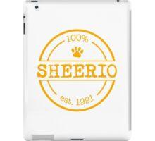 Ed Sheeran - Sheerio2 iPad Case/Skin