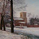 Church of the Holy Cross, Yelling, Cambridgeshire by Lynda Robinson