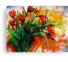 Flowers...Tulips Canvas Print