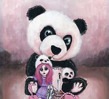 Candie and Panda by ROUBLE RUST
