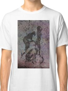Blue Ladys Figurative Expressions Classic T-Shirt