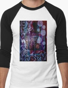 Dreaming Figurative Michaela Miller Artist Men's Baseball ¾ T-Shirt