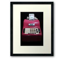 Cash machine Framed Print