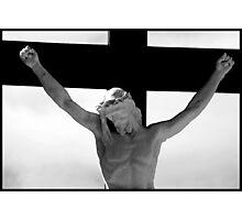 Jesus on the cross 3 Photographic Print
