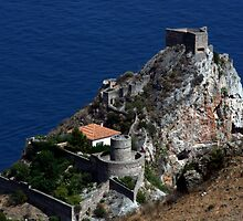 castle in taormina by keki
