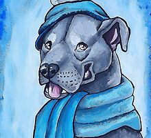 Pit Bull 1 by Coffee Lion