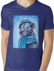 Pit Bull 1 Mens V-Neck T-Shirt