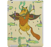 With Wax and Feathers it Flew iPad Case/Skin