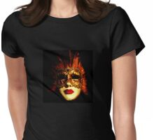 Venetian Mask Womens Fitted T-Shirt