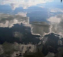 upside down clouds by Fran E.