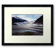 Mendenhall Glacier, Alaska Framed Print