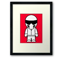 The Stig - Just the Stig Framed Print