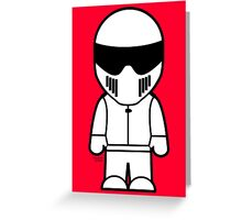 The Stig - Just the Stig Greeting Card