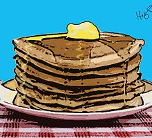 Pop Art Pancakes by Cindy Higby