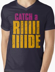 Borderlands 2 - CATCH A RIDE shirt Mens V-Neck T-Shirt