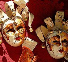 Carnival in Venice by Arie Koene