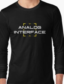 Person of Interest - Analog Interface V2 Long Sleeve T-Shirt
