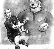 Jimmy Cowan halfback in black by Alleycatsgarden