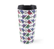 Unit 01 Multicolor Repeating Pattern Travel Mug