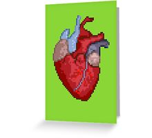 16-Bit Troubles for an 8-Bit Heart Greeting Card