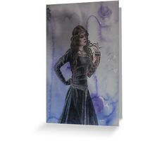 maiden Greeting Card