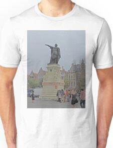 Statue of Jacob van Artevelde, Ghent, Belgium Unisex T-Shirt