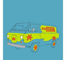The Scooby Doo Mystery Machine Photographic Print