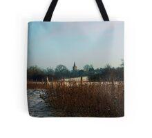 Twyford St Mary Church Tote Bag