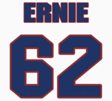National football player Ernie Price jersey 62 by imsport