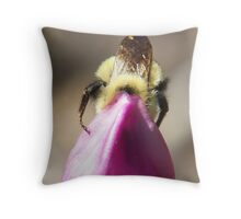 Squeeze In A Little More Throw Pillow