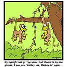 Monkey see, monkey do... by Hagen