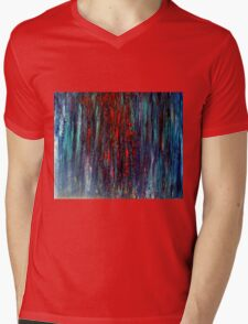 Abstract Painting Modern Original Art Acrylic Titled: Wonderall Mens V-Neck T-Shirt