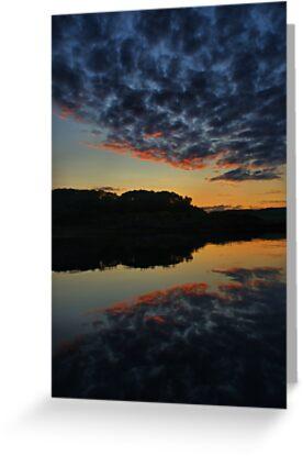 Shuna, September Sunset by Alisdair Gurney