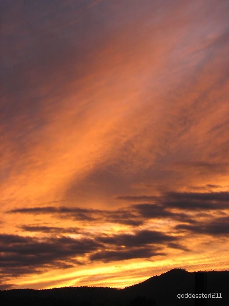 Sunset surprise by goddessteri211