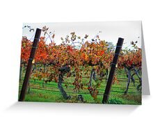 Autumn vines Greeting Card